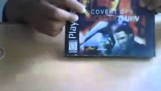 Unboxing PS1 game nuclear dawn