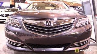 2017 Acura RLX - Exterior and Interior Walkaround - 2017 Toronto Auto Show