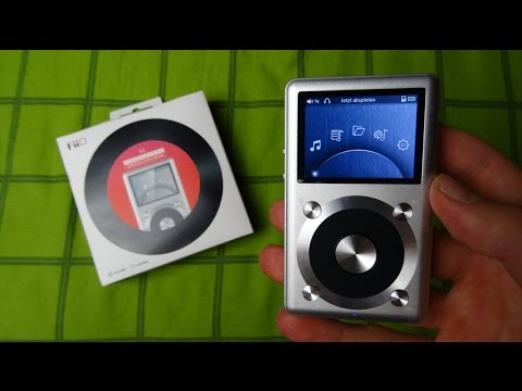 FiiO X1 High Fidelity Mp3 Player UNBOXING & Erster Eindruck