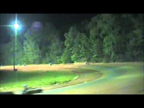 Avery Franklin wins Blue Clone in 2nd points race at Dawgwood Speedway 4-14-2012