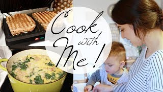SPRING WHAT I EAT IN A DAY! COOK WITH ME MOMMY AND TODDLER EDITION