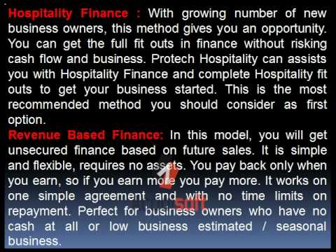 Ideas for Hospitality Business Finance