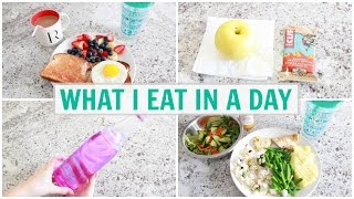 What I Eat In A Day (Healthy Student Meals)