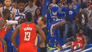 James Harden Wanna Fight Joel Embiid Th...