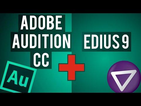 ADOBE AUDTION + EDIUS (параллельная обработка)