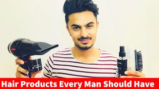 Top 5 Hair Styling Products in India Every Man Should Have