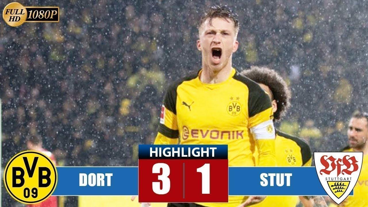 Download Borussia Dortmund vs VfB Stuttgart 3 1 Highlights & All Goals 09 03 2019