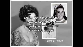 CONNIE FRANCIS - My Heart Has A Mind Of It