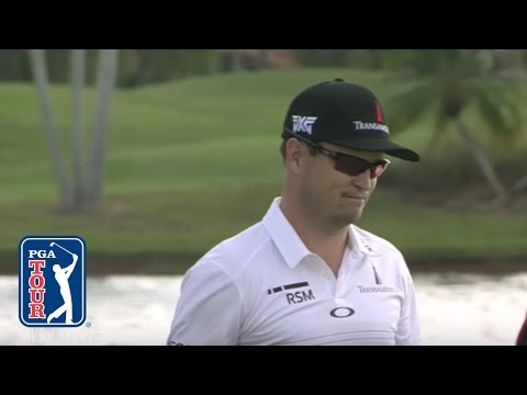 Zach Johnson's brilliant eagle three at Honda