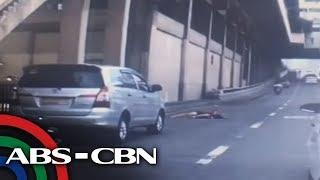 Hinimok ng mga awtoridad ang pedestrians na tumawid sa tamang tawir...