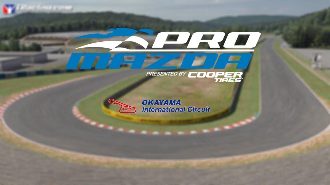 Circuito Japon : Iracing week s promazda okayama en japon circuito del
