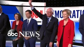Final day for 2020 Dem. presidential candidates to qualify for Houston debates l ABC News