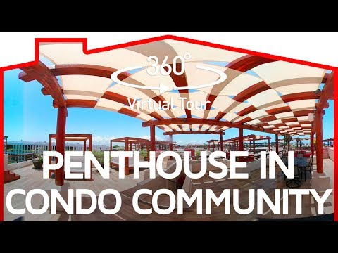 Penthouse in Luxury Condo Community Steps from Mamitas Beach