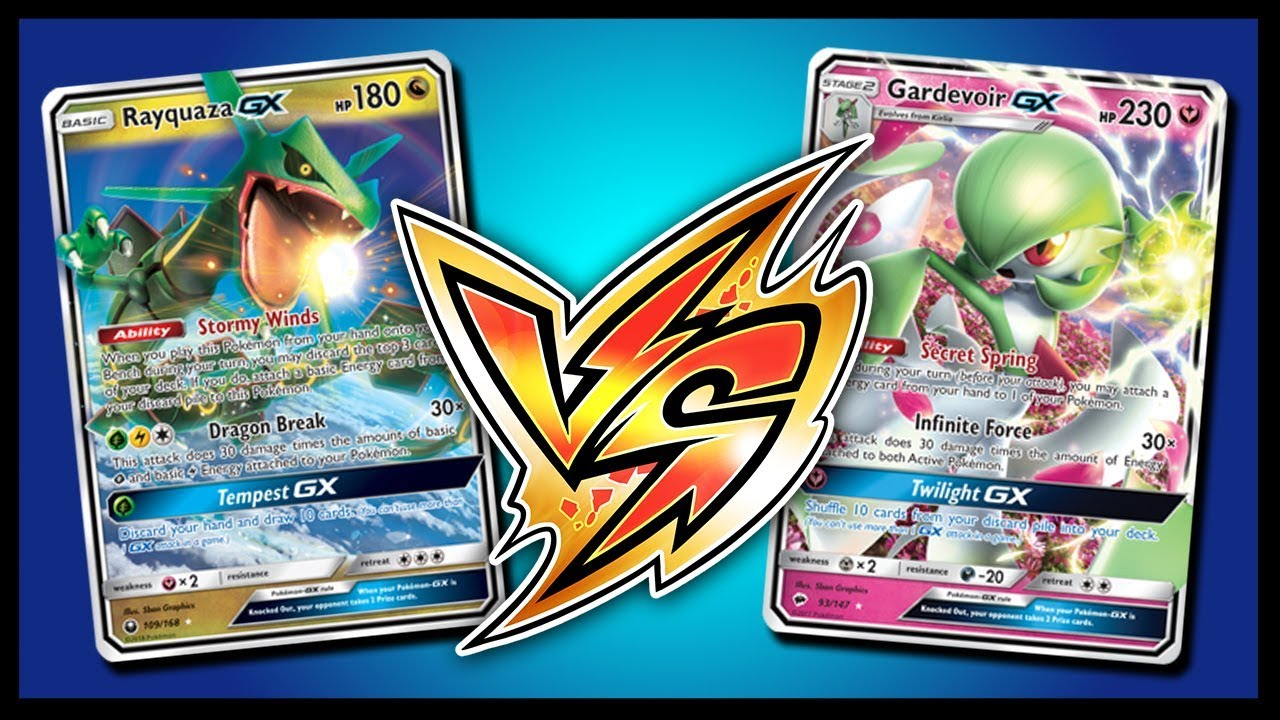 3x Games With Rayquaza Gx Pokemon Tcg Online Gameplay