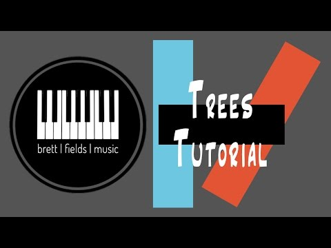 Trees Piano Tutorial - Twenty|One|Pilots