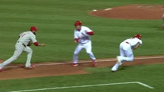 PHI@STL: Piscotty plates Wong, to tie game in the 9th