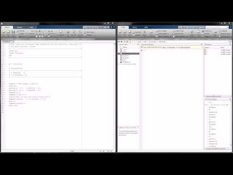 MATLAB Tutorial 4 - A Look at Creating and Calling Functions!