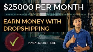 Earn $25000 With Dropshipping in India (Shopify + Aliexpress) | Best Money Earning Tutorial