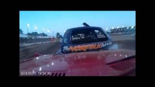 1300 SALOON STOCK CARS FROM COVENTRY ON BOARD WITH 08 LEE GREEN  HEATS 2-FINAL