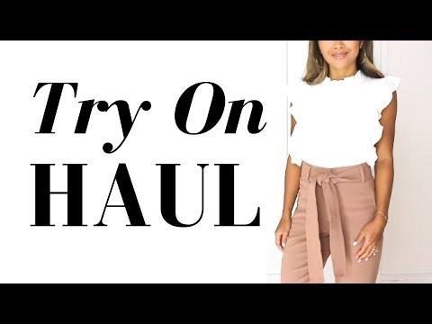 Generate Summer Try On Haul | Aritzia, Asos, Zara, Mother Denim Screenshots