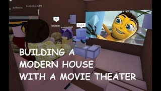 MOVIE THEATER, SECRET BASE, AND MODERN HOUSE! Lumber Tycoon 2 Roblox
