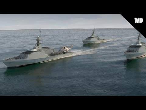 Royal Navy's New Offshore Patrol Vessels
