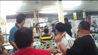 【ケンカ】フードコートで修羅場!殴られる女性【キチガイ】 http://www...