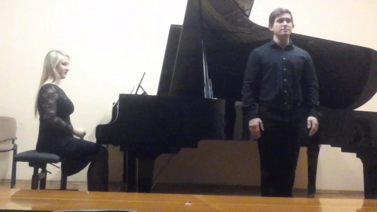 Юлия Коноплицкая исполняет произведение Птушкина на слова Пушкина