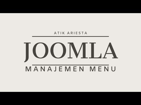 Joomla! 3.9 - Manajemen Menu thumbnail