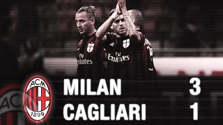 Video Gol Pertandingan Cagliari vs AC Milan