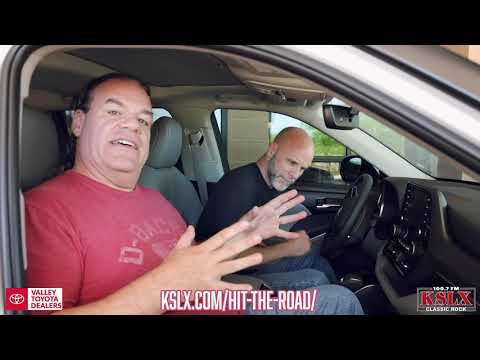 Hit The Road Highlander Giveaway! With KSLX & Valley Toyota Dealers
