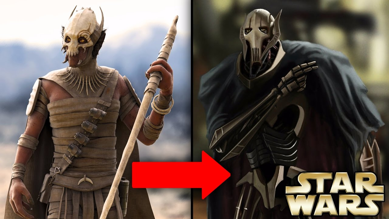 Uncategorized Pictures Of General Grievous how general grievous became a cyborg and his past life featuring fact free youtube