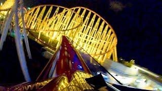 Night Steel Dragon 2000 Roller Coaster AMAZING POV 4K 60FPS Nagashima Spaland Japan
