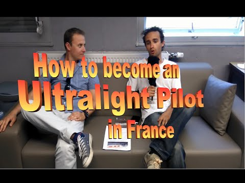 How to become an Ultralight Pilot? - English subtitles