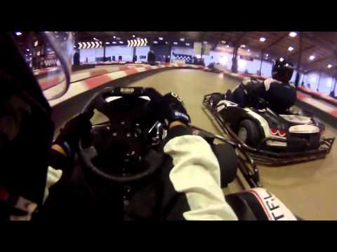 Alex Bridger Go Karting at Capital Karts