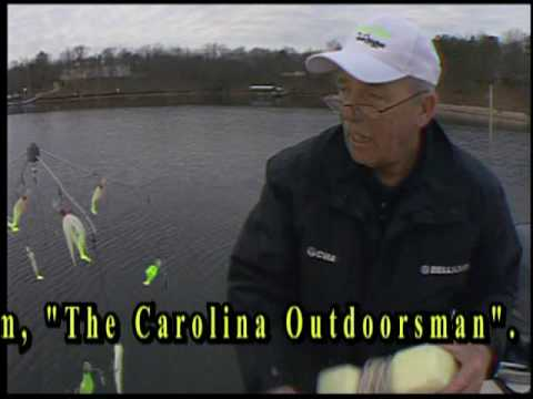 Catching Stripers On An Umbrella Rig