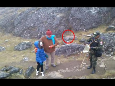 Aparece duende en montañas de Perú | vídeo de duende real captado por cámaras from YouTube · Duration:  1 minutes 21 seconds