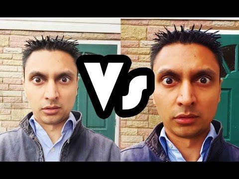 Samsung Galaxy S6 vs iPhone 6 Camera Comparison (Front)