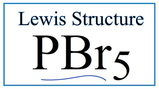 pbr5 lewis structure how to draw the lewis structure for pbr5
