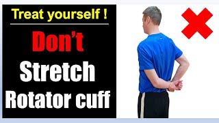 3. How To Fix Rotator Cuff Pain   Rehab Exercises Massage Treatment