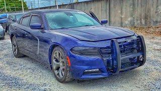 Купил  утопленный полицейский Dodge Charger. Проект Need For Speed