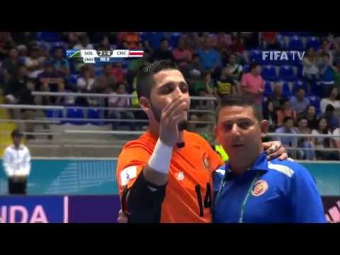 Match 10: Solomon Islands v Costa Rica - FIFA Futsal World Cup 2016