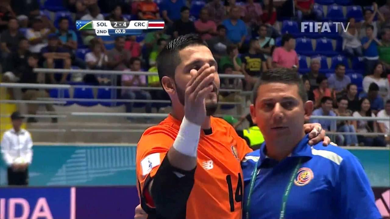 Video: Futsal QĐ Solomon vs Futsal Costa Rica
