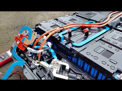 Outlander PHEV Battery Disassembly
