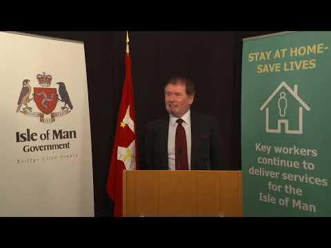 Isle of Man Government Coronavirus Briefing - Sunday 26th April