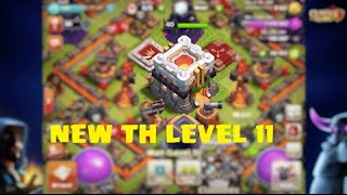 Clash of clans Town hall 11 confirmed [clashcon]-New look