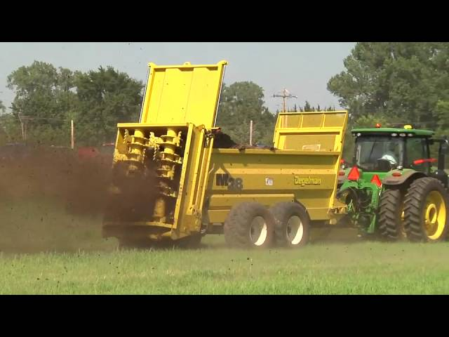 Degelman - World's Best Manure Spreader