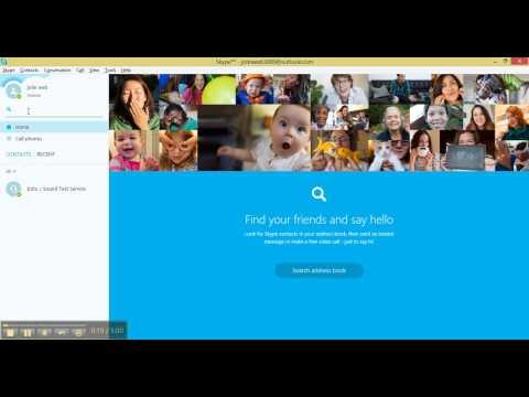 Skype - Adding contacts to Skype for Desktop windows 8.1