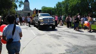 Gay pride parade Winnipeg 2016