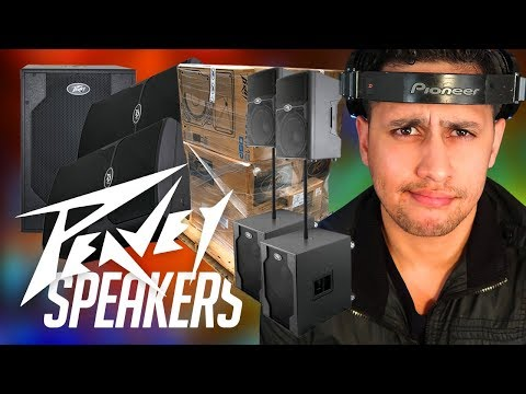 MAIL TIME: PEAVEY Sent Me A Pallet Of SPEAKERS | PVX P 15